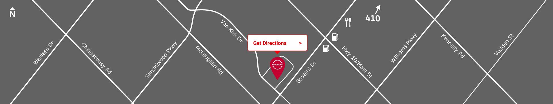 Footer custom desktop map