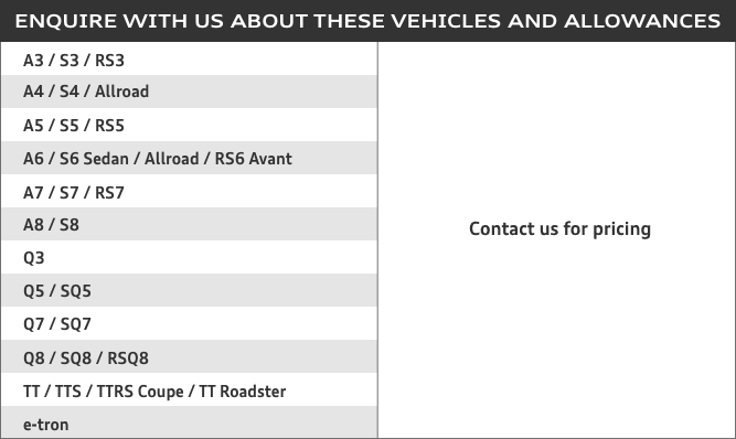 Audi Corporate Partner Program