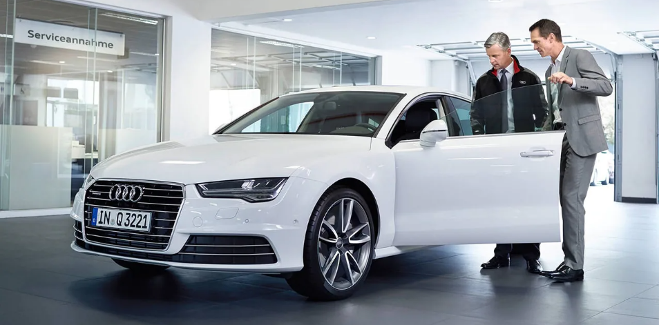 Audi Care for CPO vehicle