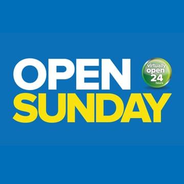 open sunday icon
