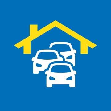 car showroom icon